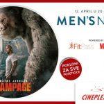 Cineplexx Men's night događaj uz poklone i zabavu za sve posetioce