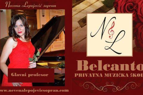 Belcanto privatna i elitna muzička škola