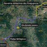 Izgradnjom Gružanskog koridora Kragujevac postaje čvorište srpskih saobraćajnica