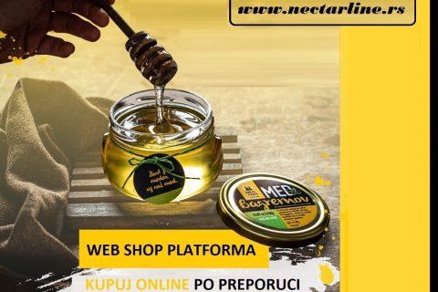 Nectar Line kompanija startovala svoj moderni Web Shop za prodaju meda