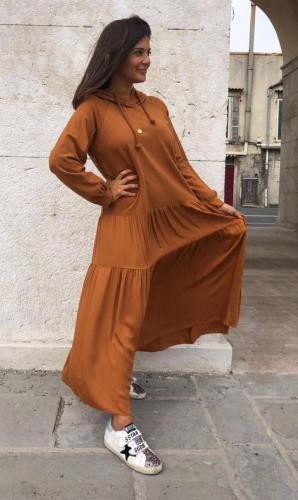 Duks haljina sa kapuljačom