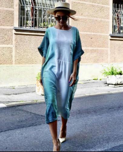 Haljina od svile - odeca za mame i dame
